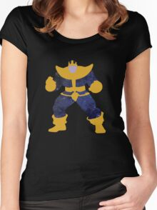 Thanos Galaxy Women's Fitted Scoop T-Shirt