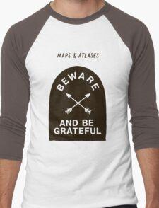 Maps and Atlases Men's Baseball ¾ T-Shirt