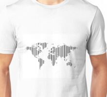 Map stroke a code Unisex T-Shirt
