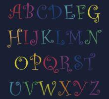 Alphabet Soup Kids Tee