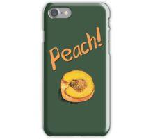 Peach! iPhone Case/Skin