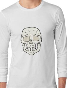cartoon skull Long Sleeve T-Shirt