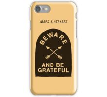 Maps and Atlases iPhone Case/Skin