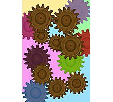The Gears  Photographic Print