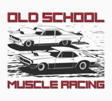 Old School. Muscle racing Kids Tee