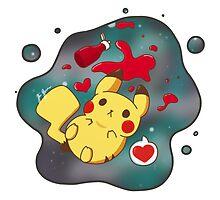 Pikachu's Galaxy Ketchup by SgtPanda