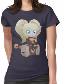 Poppy Keeper of the Hammer Womens Fitted T-Shirt