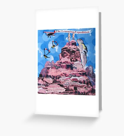 The Lemming Expedition Greeting Card