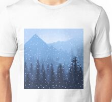 Mountain3 Unisex T-Shirt