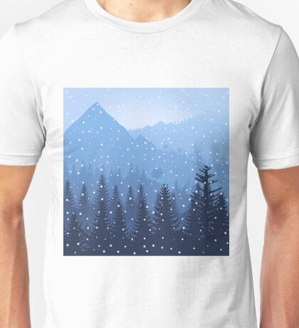 Mountain3 Unisex T-Shirt