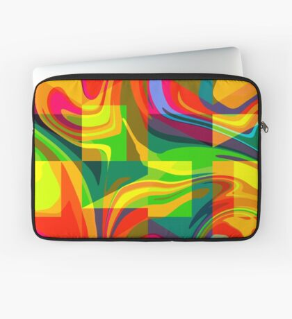 Funky geometric pattern Laptop Sleeve
