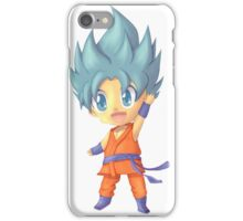 Chibi God Goku iPhone Case/Skin