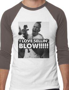 I LOVE SELLIN' BLOW!!!!!!!!! Men's Baseball ¾ T-Shirt