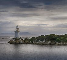 Lighthouse at Hell's Gate by Jan Pudney