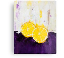 Lemon Scented Fruit Metal Print