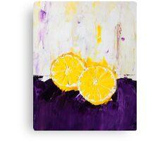 Lemon Scented Fruit Canvas Print