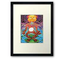 Core Being Framed Print