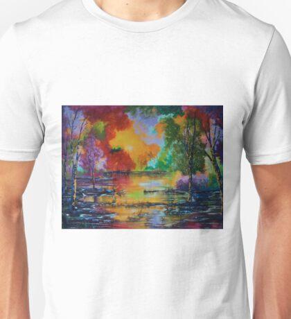 Colorful Landscape Unisex T-Shirt