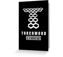 Torchwood institute - dr who Greeting Card