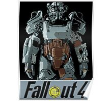 Traje fallout Poster