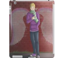 Bryce graffiti angel wings iPad Case/Skin