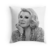 Joan Rivers Throw Pillow