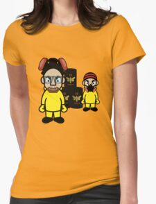 Walt & Jesse - Cloud Nine Womens Fitted T-Shirt