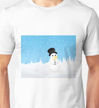 snowman2 Unisex T-Shirt