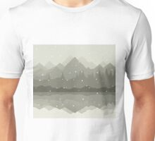 Winter mountains Unisex T-Shirt