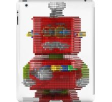 Sad Robot Pixel iPad Case/Skin