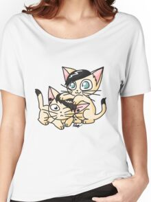 Youtuber Kittens: Dan and Phil Women's Relaxed Fit T-Shirt