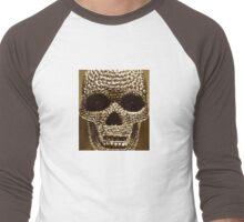 pixelSKULL Men's Baseball ¾ T-Shirt