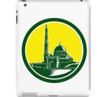 Putra Mosque Woodcut Retro iPad Case/Skin