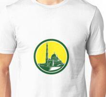 Putra Mosque Woodcut Retro Unisex T-Shirt