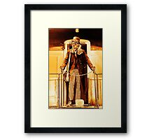Anarchist:No King - On the Train Framed Print