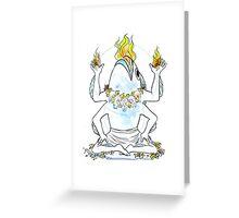Strange Gods: Lhaza Greeting Card