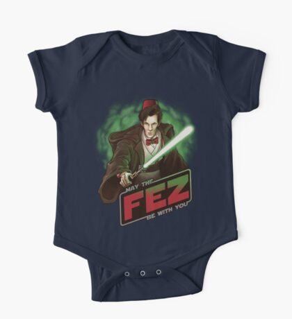 May the Fez be With You One Piece - Short Sleeve