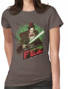 May the Fez be With You Womens Fitted T-Shirt