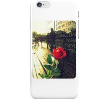 The Wall of Freedom iPhone Case/Skin