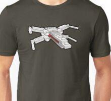 X-wing in bricks Unisex T-Shirt