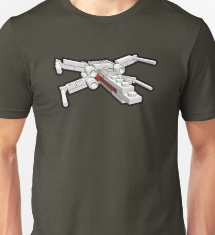 X-wing in bricks Unisex T-Shirt