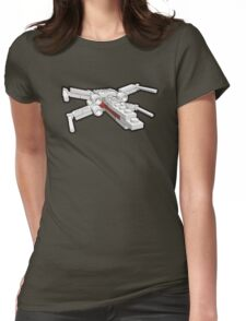 X-wing in bricks Womens Fitted T-Shirt