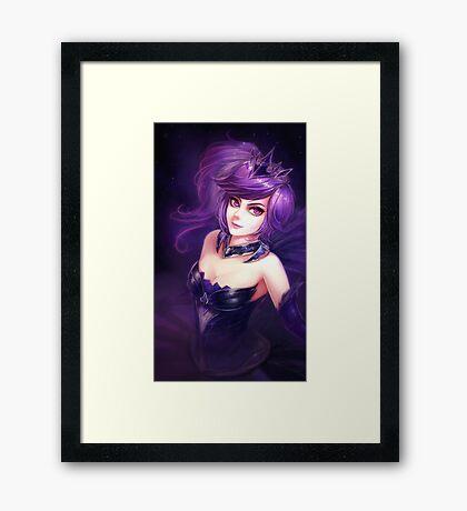 Elementalist Lux - Dark Framed Print