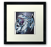 Dragon with Blue-Eyes Framed Print