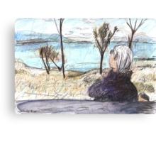Jean at Callide Dam Canvas Print