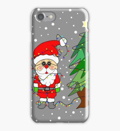 Playful Santa iPhone Case/Skin