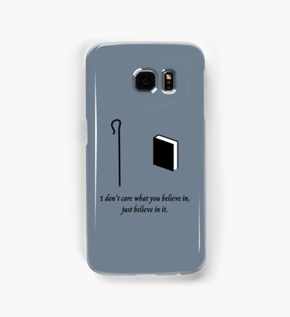 Shepherd Book -  I Don't Care What You Believe In Samsung Galaxy Case/Skin