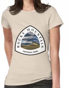 Rocky Mountains National Park Womens Fitted T-Shirt