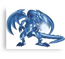 Blue-Eyes White Dragon Canvas Print
