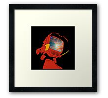 Psychedelic Canti Framed Print